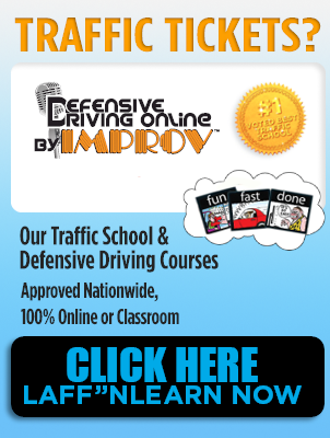 Defensive Driving Online by Improv